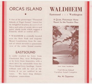 Waldheim Brochure - Front